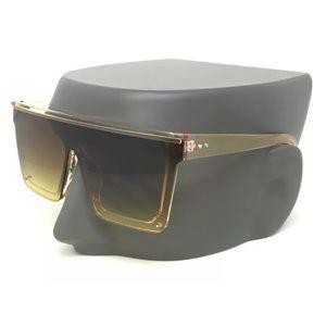 Other - Aviator Flat Top Square Retro Fashion Sunglasses